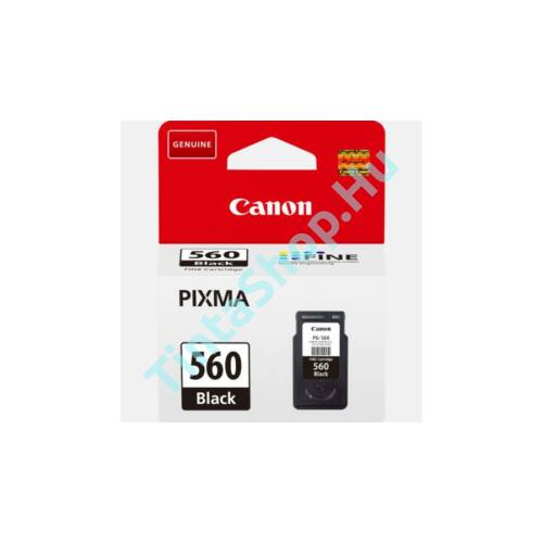 Canon PG-560 BK fekete (BK-Black) eredeti (gyári, új) tintapatron