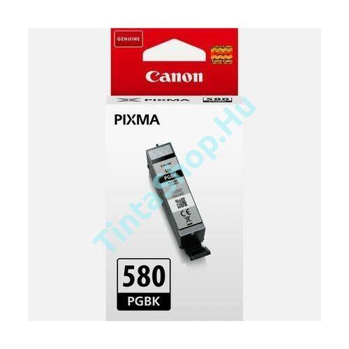 Canon PGI-580 BK fekete (BK-Black) eredeti (gyári, új) tintapatron