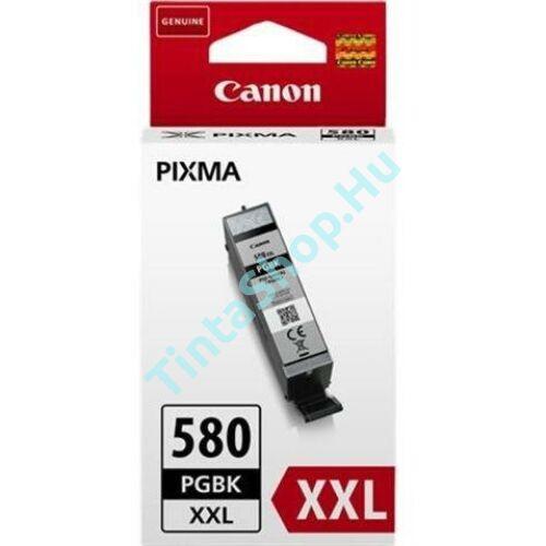 Canon PGI-580 BK XXL fekete (BK-Black) nagy kapacitású eredeti (gyári, új) tintapatron