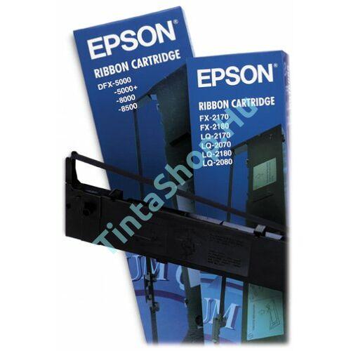 Epson LQ 2170 (S015086) BK fekete (BK-Black) eredeti (gyári, új) festékszalag