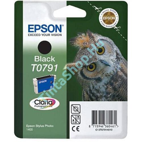 Epson T0791 BK fekete (BK-Black) eredeti (gyári, új) tintapatron