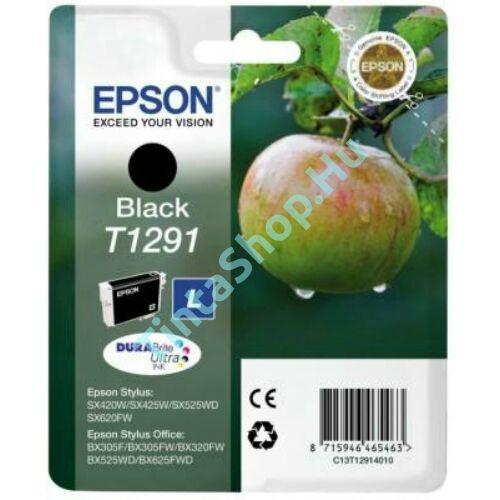 Epson T1291 BK fekete (BK-Black) eredeti (gyári, új) tintapatron