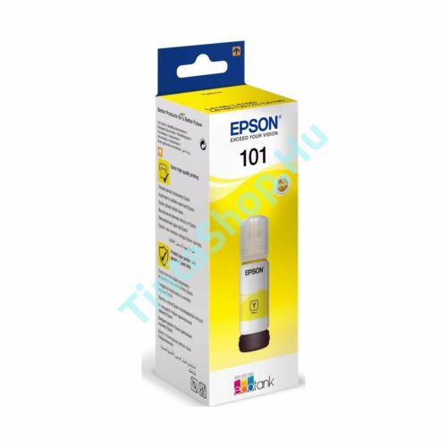 Epson T03V4 (No.101) YL sárga (YL-Yellow) eredeti (gyári, új) tintapalack