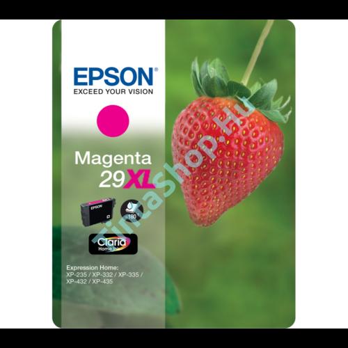 Epson T2993 (No.29 XL) MG bíbor (piros) (MG-Magenta) nagy kapacitású eredeti (gyári, új) tintapatron