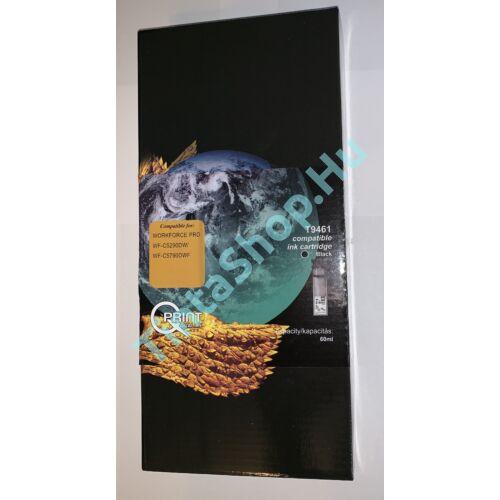 Epson T9461 BK fekete (BK-Black) kompatibilis (utángyártott) tintapatron