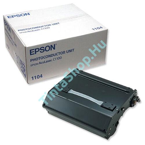 Epson C1100 BK fekete (BK-Black) eredeti (gyári, új) dobegység