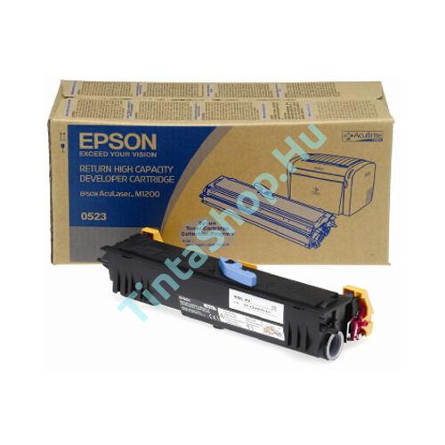 Epson S050521 (M1200) BK fekete (BK-Black) eredeti (gyári, új) toner
