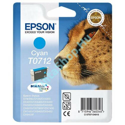 Epson T0712 CY cián (kék) (CY-Cyan) eredeti (gyári, új) tintapatron
