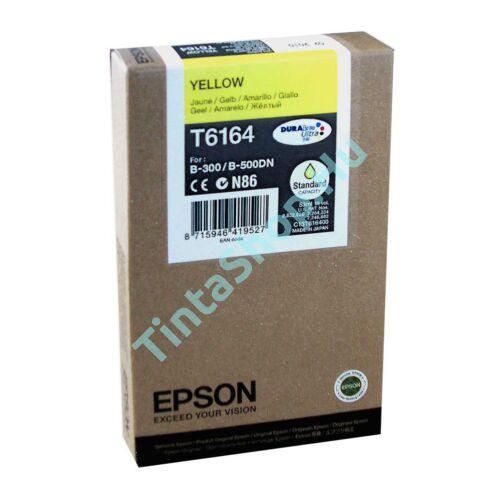 Epson T616400 YL sárga (YL-Yellow) eredeti (gyári, új) tintapatron