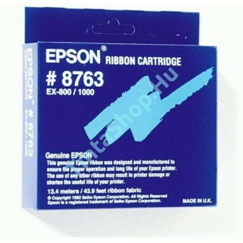 Epson EX 800 (8763) (S015054) BK fekete (BK-Black) eredeti (gyári, új) festékszalag