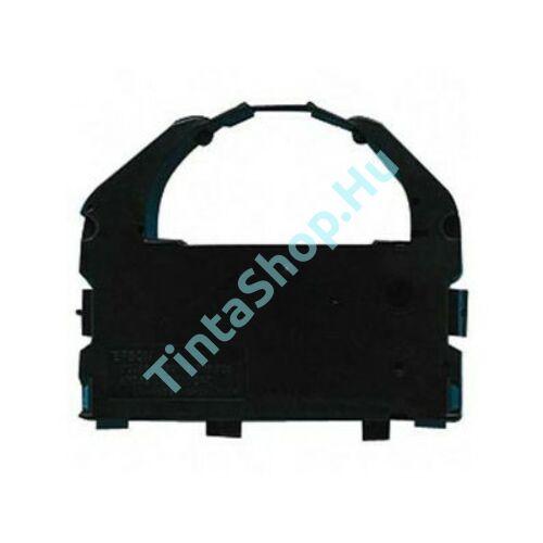 Epson LQ 670 / LQ 680 / LQ 860 / LQ 1060 / LQ 2500 / LQ 2550 (S015016) BK fekete (BK-Black) kompatibilis (utángyártott) festékszalag