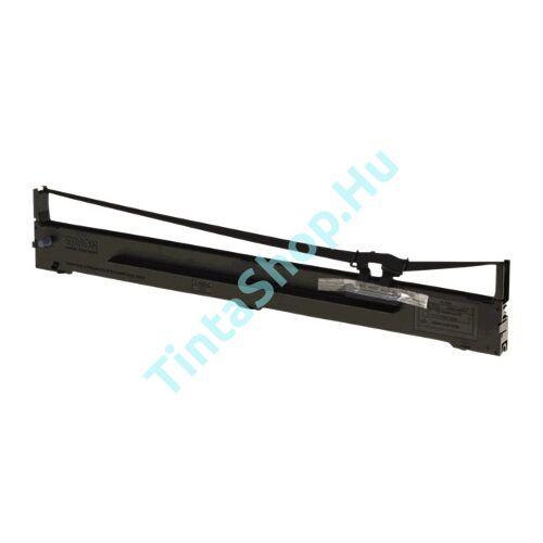 Epson FX 2190 / LQ 2090 (S015327) BK fekete (BK-Black) kompatibilis (utángyártott) festékszalag