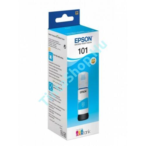 Epson T03V2 (No.101) CY cián (kék) (CY-Cyan) eredeti (gyári, új) tintapalack
