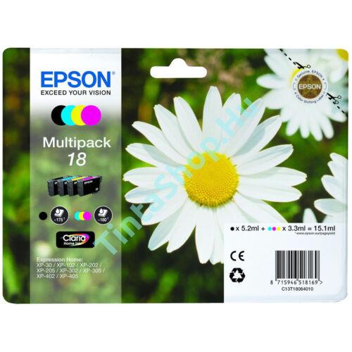 Epson T1806 (No.18) Multipack eredeti (gyári, új) tintapatron
