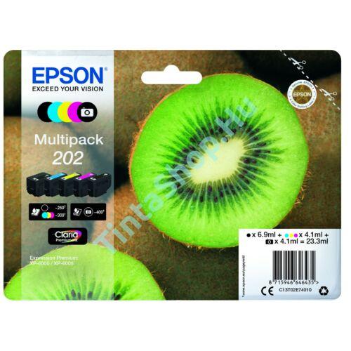 Epson T02E7 (No.202) Multipack eredeti (gyári, új) tintapatron