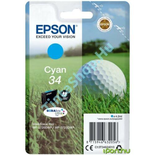 Epson T3462 CY cián kék (CY-Cyan) eredeti (gyári, új) tintapatron
