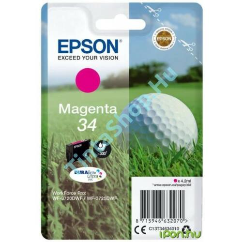 Epson T3463 MG magenta (MG-Magenta) eredeti (gyári, új) tintapatron