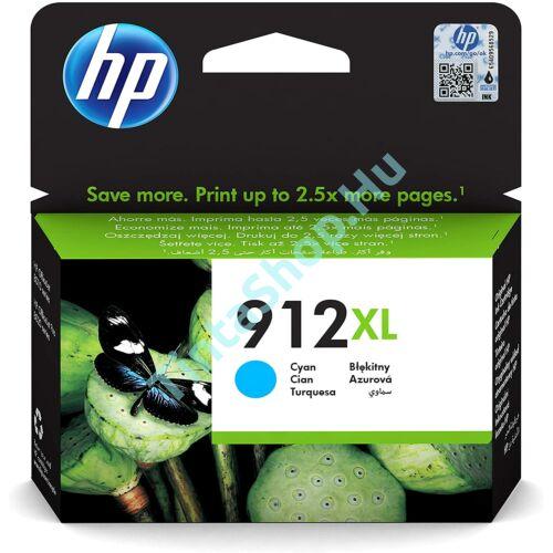 HP 3YL81AE (No.912 XL) CY-Cyan cián-kék nagy kapacitású eredeti (gyári, új) tintapatron