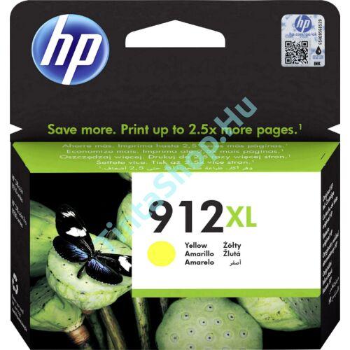 HP 3YL83AE (No.912 XL) YL-Yellow sárga nagy kapacitású eredeti (gyári, új) tintapatron