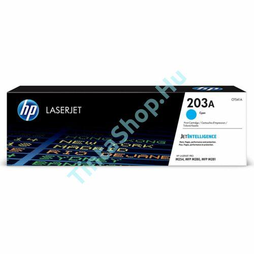 HP CF541A (No.203A) CY cián-kék (CY-Cyan) eredeti (gyári, új) toner