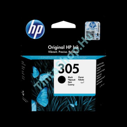 HP 3YM61AE (No.305) BK-Black fekete eredeti (gyári, új) tintapatron