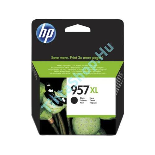 HP L0R40AE (No.957 XL) BK-Black fekete nagy kapacitású eredeti (gyári, új) tintapatron