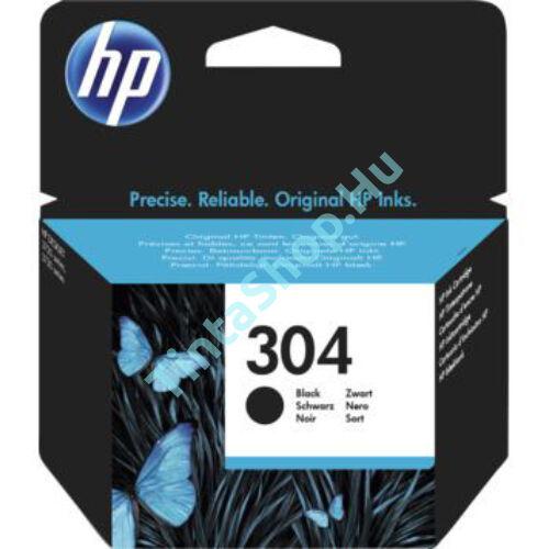 HP N9K06AE (No.304 BK) fekete (BK-Black) eredeti (gyári, új) tintapatron