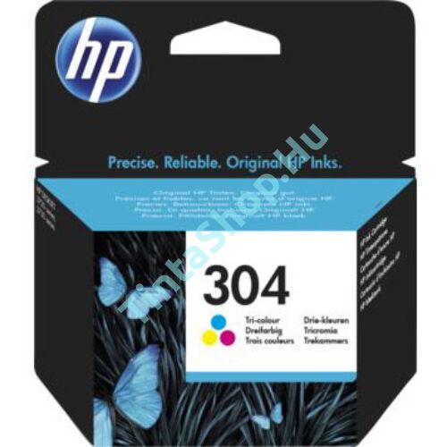 HP N9K05AE (No.304 C) színes (C-Color) eredeti (gyári, új) tintapatron