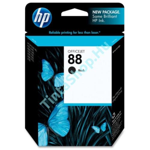 HP C9385A (No.88) BK fekete (BK-Black) eredeti (gyári, új) tintapatron