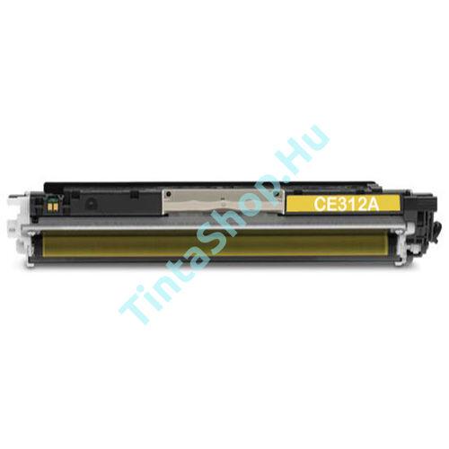 HP CE312A (No.126A) YL sárga (YL-Yellow) kompatibilis (utángyártott) toner