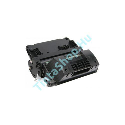 HP CE390X (No.90X) BK fekete (BK-Black) nagy kapacitású kompatibilis (utángyártott) toner