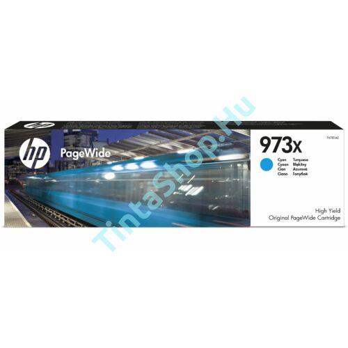 HP F6T81AE (No.973X) CY-Cyan cián-kék nagy kapacitású eredeti (gyári, új) tintapatron