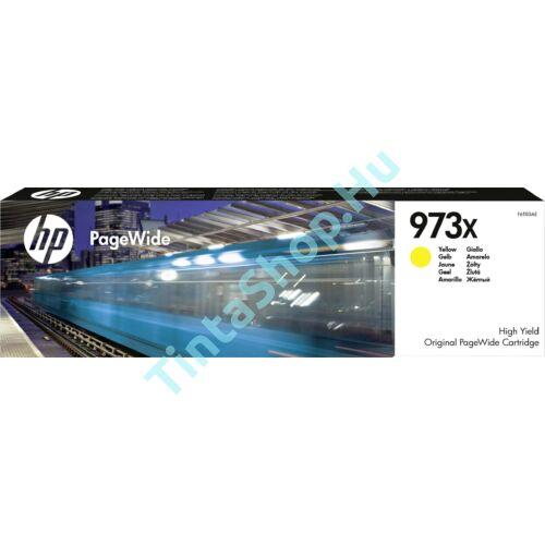 HP F6T83AE (No.973X) YL-Yellow sárga nagy kapacitású eredeti (gyári, új) tintapatron