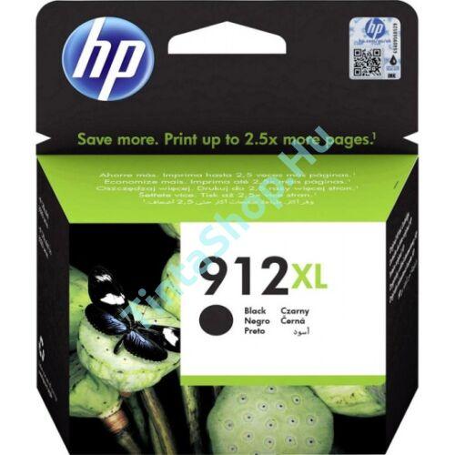HP 3YL84AE (No.912 XL) BK-Black fekete nagy kapacitású eredeti (gyári, új) tintapatron