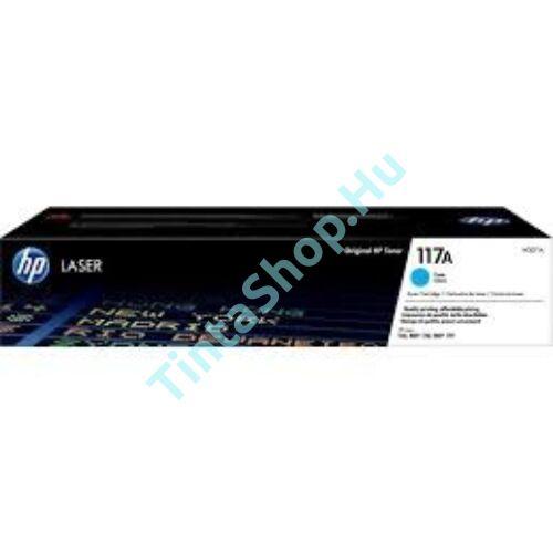 HP W2071A (No.117A) CY cián (kék) (CY-Cyan) eredeti (gyári, új) toner