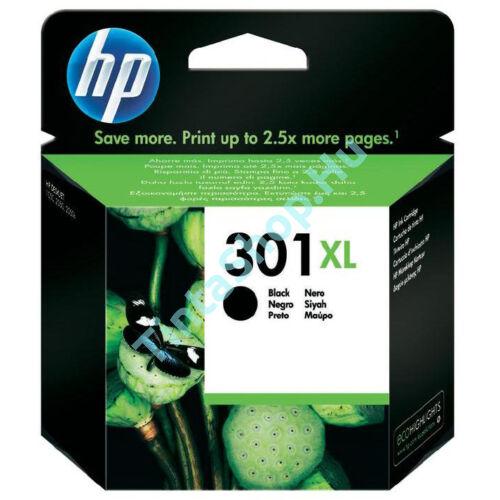 HP CH563EE (No.301 BK XL) fekete (BK-Black) nagy kapacitású eredeti (gyári, új) tintapatron