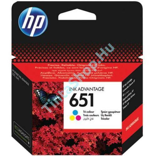 HP C2P11AE (No.651) C színes (C-Color) eredeti (gyári, új) tintapatron