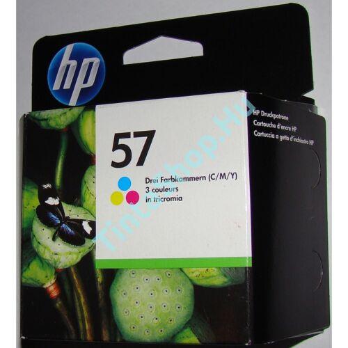 HP C9503 (No.57 DUPLA) C színes (C-Color) eredeti (gyári, új) tintapatron