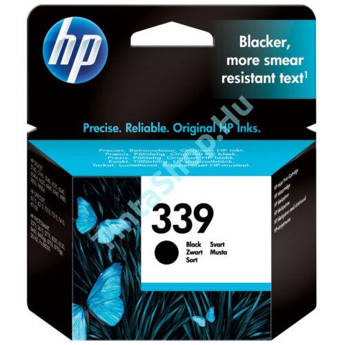 HP C8767EE (No.339) fekete (BK-Black) eredeti (gyári, új) tintapatron