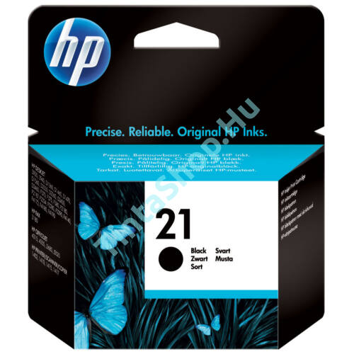 HP C9351A (No.21) fekete (BK-Black) eredeti (gyári, új) tintapatron