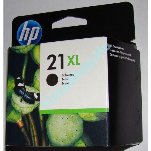 HP C9351CE (No 21XL) fekete (BK-Black) nagy kapacitású eredeti (gyári, új) tintapatron