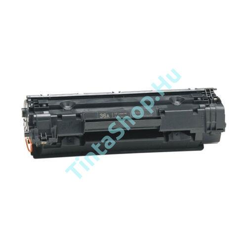 HP CB436A (No.36A) fekete (BK-Black) kompatibilis (felújított) toner