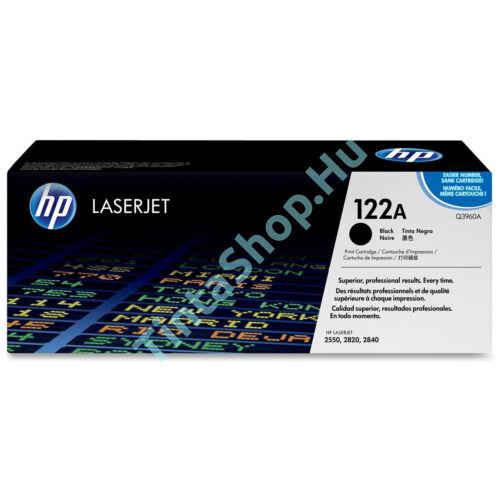 HP Q3960A (No.122A) BK fekete (BK-Black) eredeti (gyári, új) toner