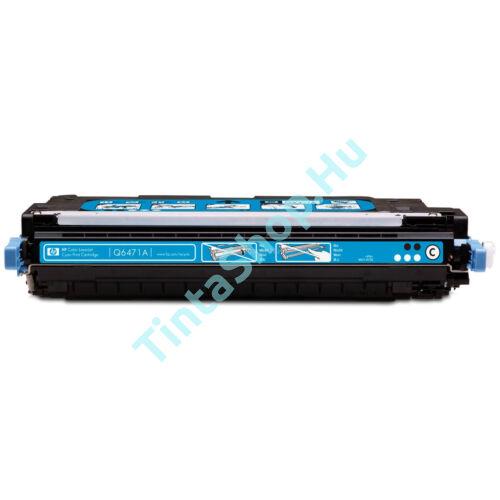 HP Q6471A (No.502A) CY cián (kék) (CY-Cyan) kompatibilis (utángyártott) toner