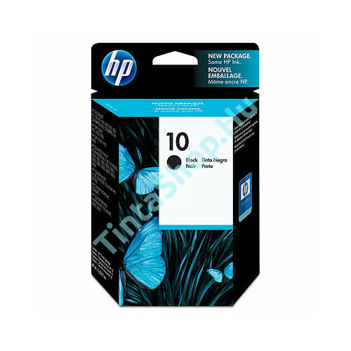 HP C4844A (No.10) BK fekete (BK-Black) eredeti (gyári, új) tintapatron