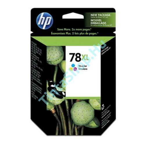 HP C6578A (No.78A) színes (C-Color) nagy kapacitású eredeti (gyári, új) tintapatron