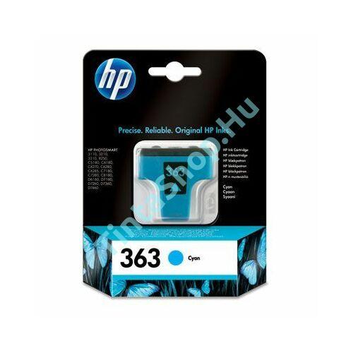 HP C8771E (No.363) CY cián (kék) (CY-Cyan) eredeti (gyári, új) tintapatron