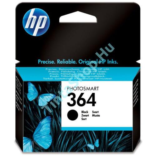 HP CB316AE (No.364) BK fekete (BK-Black) eredeti (gyári, új) tintapatron