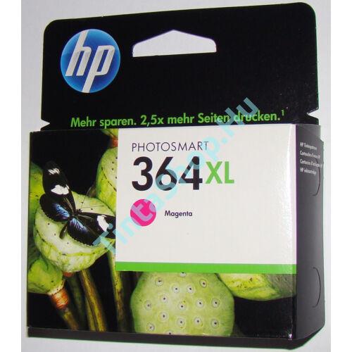 HP CB324AE (No.364) XL MG bíbor (piros) (MG-Magenta) nagy kapacitású eredeti (gyári, új) tintapatron