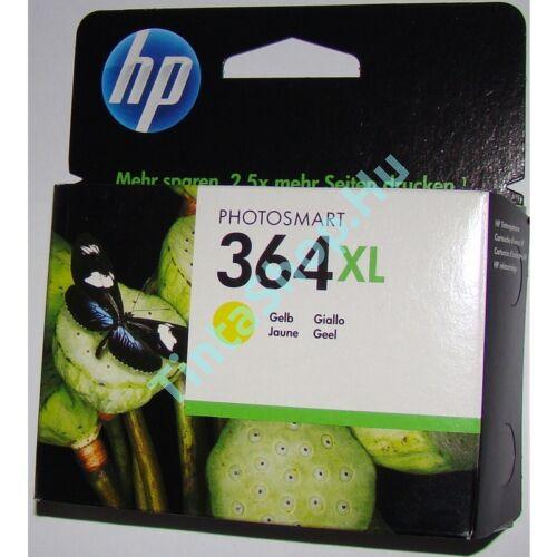 HP CB325AE (No.364 XL) YL sárga (YL-Yellow) nagy kapacitású eredeti (gyári, új) tintapatron